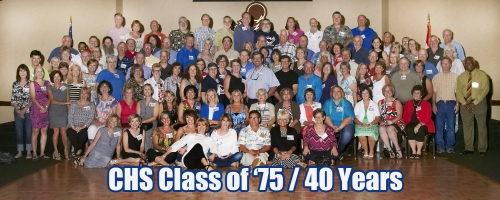 40 Year Reunion Class Photo